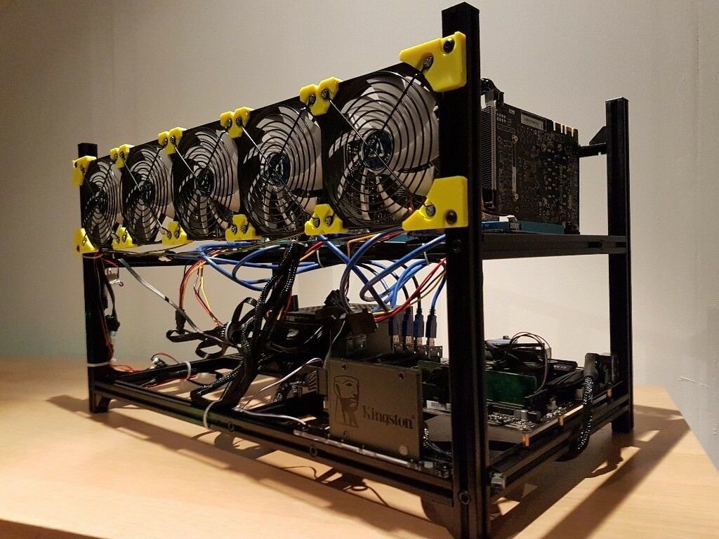Cryptocurrency GPU Mining Rig – 6 x NVidia GTX 1070 – Bitcoin, ZCash,  Ethereum | in Enfield, London | Gumtree