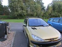 Peugeot 206 xsi SW £795 ono