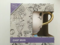 Disneys Beauty And The Beast Chip Mug in Original Box