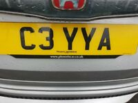 Private registration **C3 YYA**