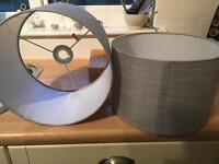 Silver Lampshades