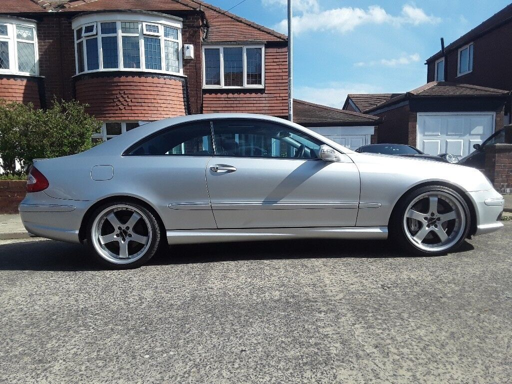 Mercedes Benz W209 CLK 55 AMG. Excellent car with extras.