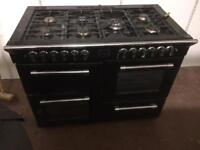 Gas & electric range style stove cooker