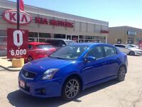 2010 Nissan Sentra SE-R, Navi, Rear Camera,POWER SUN ROOF.