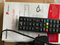 Manhattan Plaza HD T2 Freeview receiver with Apps