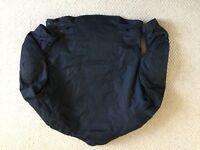 Black Motorcycle jacket large
