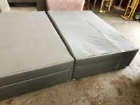 Fantastic king size bed base with mattress