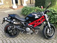 Ducati Monster 796, 803cc, 2011, Black & Red