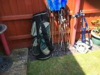 golf clubs & accesories