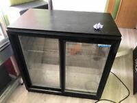 Under counter bar fridge