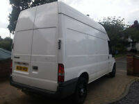 ford transit van 2006 lwb high top 90 t350 driver superb