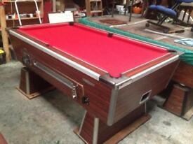 Pool table slate bed 6x3