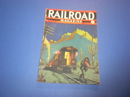 RAILROAD MAGAZINE - 1941 March - vintage pulp magazine