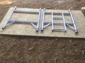Boss Youngman scaffold tower frames narrow 2 rung one pair