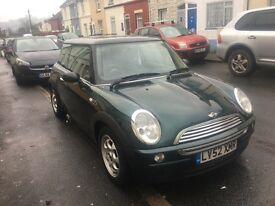 Racing Green Mini Cooper For Sale!