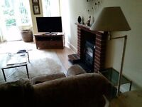 Large 1 bedroom flat with small garage, off street parking and garden. SHORT TERM Summer let only