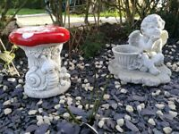 Toad Stool Seat/Garden Ornament