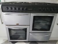 Belling Countrychef 8 Ring Range Cooker + Hood. Full Gas