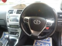Toyota AVENSIS Icon D4D,6 speed manual,4 door saloon,1 previous owner,2 keys,reverse camera,£20 tax