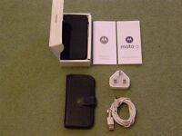 Motorola Moto mobile smart phone.