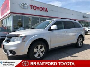 2011 Dodge Journey SXT, Sunroof, V6, 7 Seater, Bluetooth, Fog Li