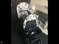Light weight double buggy