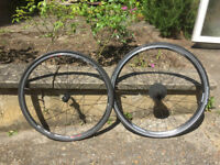 Shimano wheelset Front R500, Rear R5