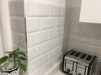 50 Wickes White Metro Tiles