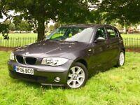 2006 BMW 116I SE GREY 5 DOOR 1.6 PETROL *SERVICE HISTORY*BRAND NEW MOT**