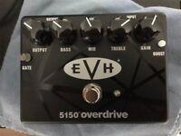 MXR EVH 5150 Overdrive pedal