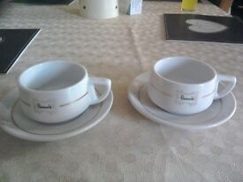 Harrods cups and saucers