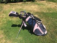 Girls Junior LPGA Golf Clubs with Bag