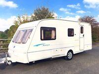 Bailey Ranger 4 berth Caravan With Separate Shower - Lightweight Caravan