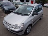 HYUNDAI GETZ GSi 1.3*2004*FULL YEARS MOT*IDEAL FIRST CAR*RELIABLE BARGAIN TRADE IN TO CLEAR £895*