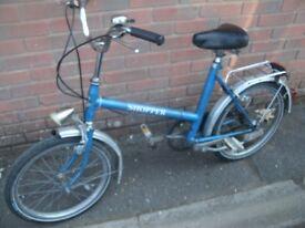 Vintage Elswick Shopper Bike