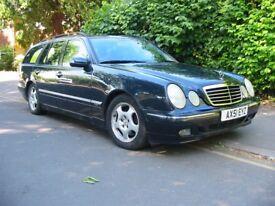 Mercedes E320 Avantgarde 2001 (Nov) for sale in good condition