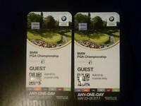2 tickets for PGA Championship
