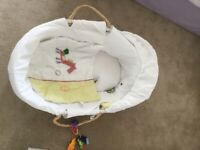Carry Cot and Bedding