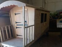 Romany gypsy caravan playhouse