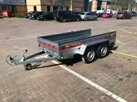 Brand new Tema Pro double axes 2,63cm car box trailer 750kg