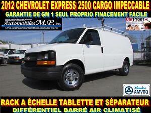 2012 Chevrolet Express 2500 CARGO RACK A ÉCHELLE TABLETTE 1 SEUL
