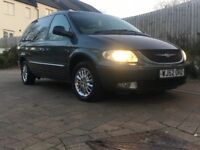 STUNNING CHRYSLER GRAND VOYAGER LUXURY 7 SEATER