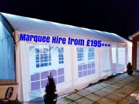 Marquee Heavy Duty   Canopy   Rental/Hire from £195+ Plus. Folding Chairs £1, Gazebo.