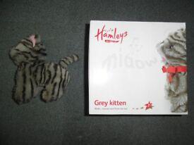 Hamleys Grey Kitten