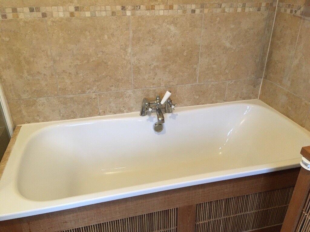 Enamel double ended high quality bath