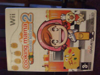 Cooking Mama world kitchen 2 Wii game.