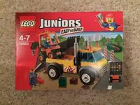 Lego juniors road work truck. Brand new in sealed box