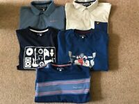 Boys bundle of t-shirts age 12-13 Ben Sherman and Lyle & Scott . Hardly worn and like new