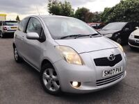 TOP SPES 2007 YARIS LOW MILESGOOD CAR FOR NEW DRIVE LOW TAX AND INSURANCE