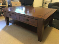 Wonderful Oak coffee/dining room table